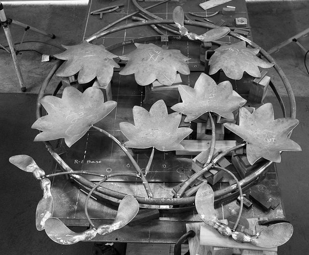 CMS Vine Maple Being Assembled